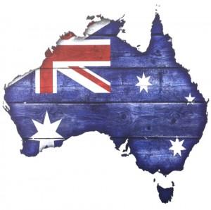 AustraliaCountryFlagScrapbookingPaper